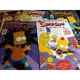 Simpson Comics Paquete Del 1 Al 5 Editorial Vid 1996 México