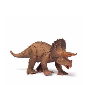 Dino World Triceratops Com Som Cotiplás