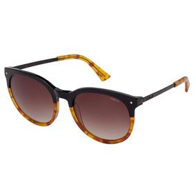 dc822b0197e6e Óculos De Sol Preto caramelo Demi Lente Degradê C0013 Colcci