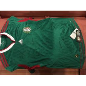 Playera Seleccion Mexicana Autografiada Original Adidas en Mercado ... c188dd13111a6