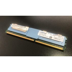 Memoria 8gb (1x8gb) Ddr2 Server Ram Ecc Fb Pc2 5300f Crucial