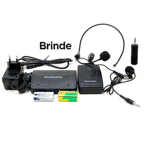 Microfone Lapela Sem Fio Wireless Headset 50 Mt Profissional