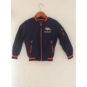 Chamarra Térmica Denver Broncos Infantil Niños Nfl Apparel f1c500ef786