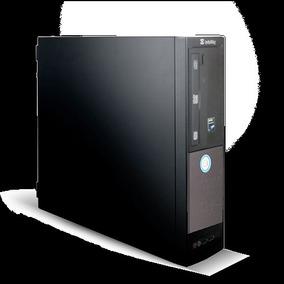 Pc Semi Novo Itautec Sm3330 4gb 320gb Dvd Win7 Pro Original