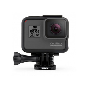 Câmera De Ação Gopro Hero 6 Black 12mp 4k Comandos Voz Wi-fi