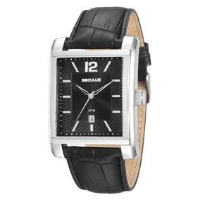 9ad5513c1ce Relógio Seculus Mod.stilo Clássico - Relógios De Pulso no Mercado ...
