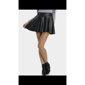 Faldas Corte Princesa En Cuerina - Ropa cc7ea6f3e9ca