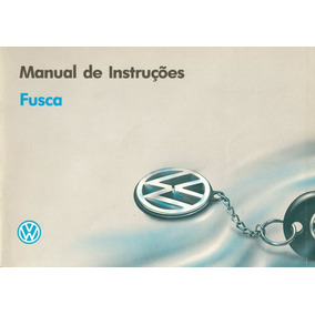 Manual De Instruções - Fusca 1994 - Loja Oficial Volkswagen