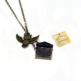 Collar Lechuza Harry Potter Carta De Hogwarts