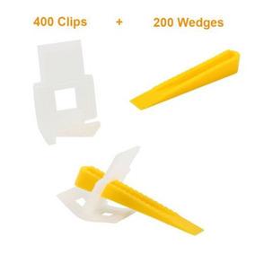 600 Azulejo A Nivelación Sistema - Cuñas De 400 Clips 2-5730