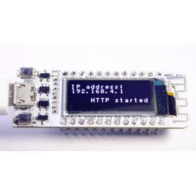 Nodemcu Esp8266 Wifi Com Oled Integrado