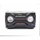 Minicomponente Panasonic 6600 Watts 4 Gb Bluetooth Usb Luces