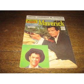 Maverick Ave No Faroeste Nº 9 Set 1962 Ed Cruzeiro Original