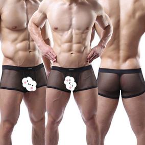 Boxer Transparentes Para Hombres En Malla Ref 73