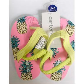 Carters Sandalia Para Bebe Piña Xs 10-11 Flip Flop