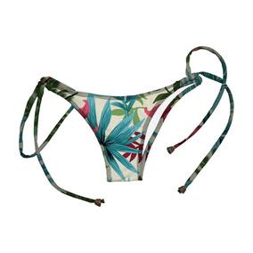 Kit Biquini Roupas Femininas Tropical Floral Praia Piscina