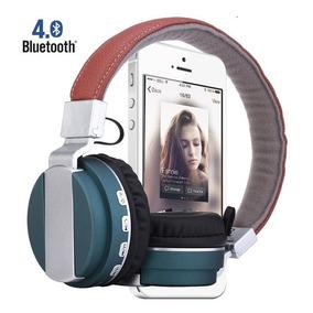 Fone Ouvido Bluetooth Mp3/4 Rádio Fm Celular Ipod Iphone Lg