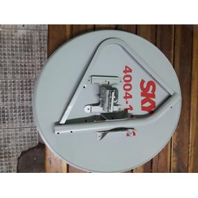 Antena Ku 60 + Lnb Duplo + 10 Mts Cabo