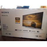 Tv Sony 55 Uhd X705 Android Nuevo