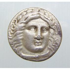 Moeda Grega Tetradracma Maussollos - 377-355 Ac-