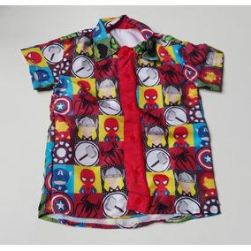 Camisa Infantil Tematica Vingadores