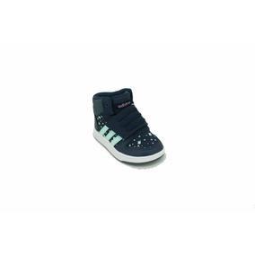 wholesale dealer 68247 33c8c Zapatilla adidas Hoops Mid 2.0 Azulaqua Bebe Deporfan