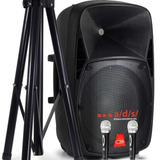 Bafle Amplificado Bluetooth Con Base Prophonic Pp-2115aues