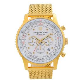 c45482a9462 Krug Baumen Cronografo Modelo 7186g - Joias e Relógios no Mercado ...