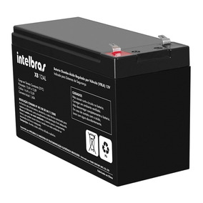 Bateria Selada Para Alarme 12v 6a Intelbras