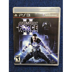Star Wars 2 The Force Unleashed Ps3 Mídia Física Usado