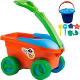 Carrinho Organizador Bell Toy Cargo Aventura Na Praia - 08 P