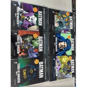 Batman Terra De Ninguém + Cataclismo 6 Volumes( Lacrados)