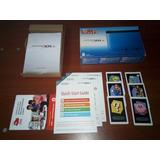 Cambio Caja Nintendo 3ds Xl Azul Con Manuales Y Tarjetas A R