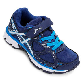 Tenis Asics Infantil Gel Light Play Azul C009a5039 Original 3530f2e08d3