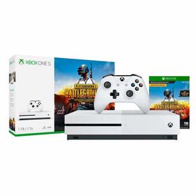 Console Xbox One S 1 Tera 4k Jogo Battlegrounds Nota Fiscal