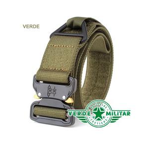 Cinturón Táctico Asalto Militar Hebilla Metal Envío Gratis