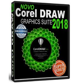 Corel Draw 2018 Licença Original - Corel Superior X7 X8 2017