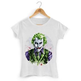 b3cb60dba9 Camiseta Feminina Coringa Arlequina - Calçados