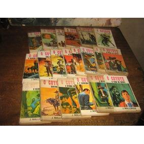 Coyote Lote C/ 20 Livros Ano 1969 Ed Bruguera Original
