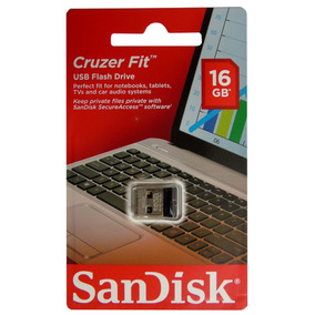 Kit 10 Pen Drive 16gb Nano Sandisk Cruzer Fit Z33 Original