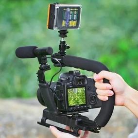 Suporte De Mão Estabilizador Camera Smartphone Go Pro Dslr