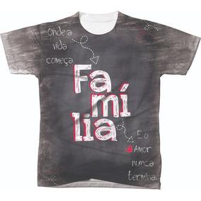 Camiseta Evangelica Familia Projeto De - Camisetas Manga Curta em ... 141c8bcc6027b