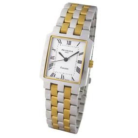 Reloj Nivada Swiss Executive Ng1868lbicbr Plata/dorado Dama
