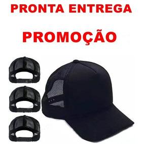 Bone Aba Curva Trucker - Bonés para Masculino em São Vicente no ... 1f2d5f448ce