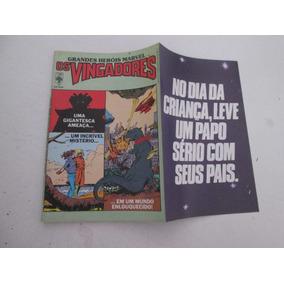Grandes Heróis Marvel Nº 17 Os Vingadores 1987
