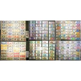Cédulas Brasileiras 1944 A 1994 Plano Real Coleção Completa