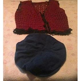 Chaleco Tejido Crochet Ultima Moda - Ropa b3000986a22b