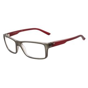Armação Oculos Grau Hb Polytech 9302464133 Cinza Vermelho 3c267ee3c4