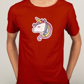 Camisa Unicornio Head Colorido - P M G Gg - Cores