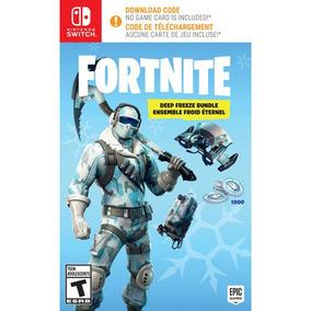 Fortnite Deep Freeze Bundle Switch Lacrado